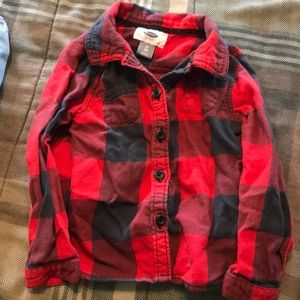 Toddler Girls Old Navy Button Down Top